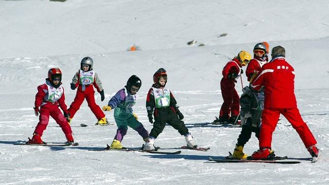 Kinder-Skischule