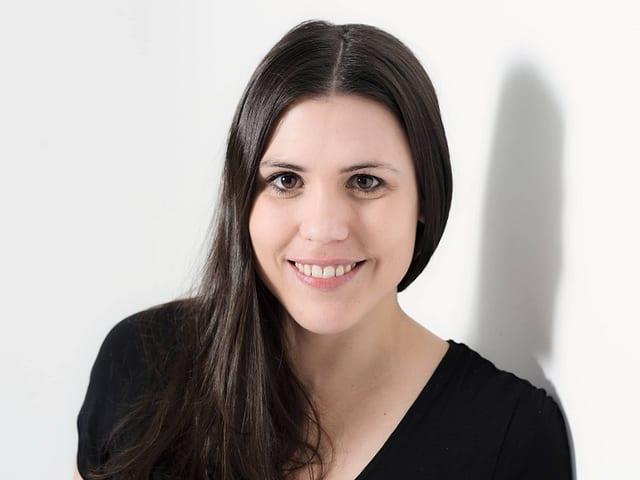 Senior Producerin Andrea Fehr
