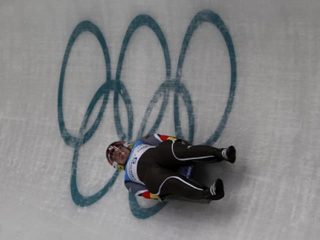 Skeletonist als gieus olimpics.