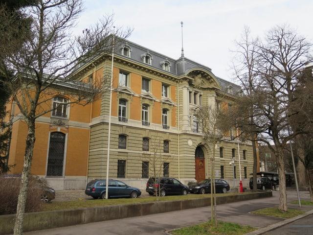 Gebäude Swissmint