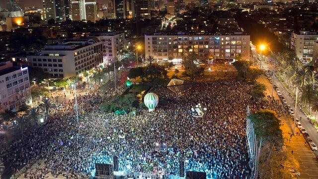 Demo in Tel Aviv