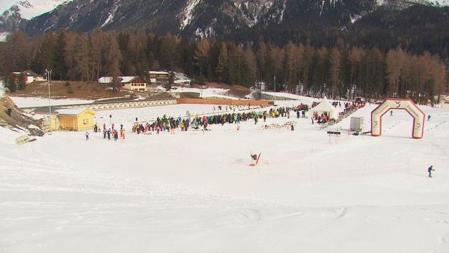 arena da biatlon a Lantsch