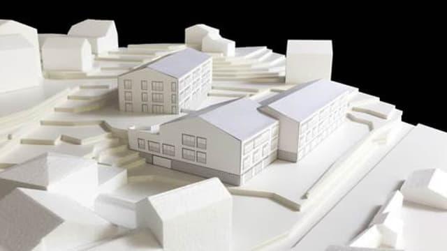 Model dal project center da seniors Oase a Churwalden.