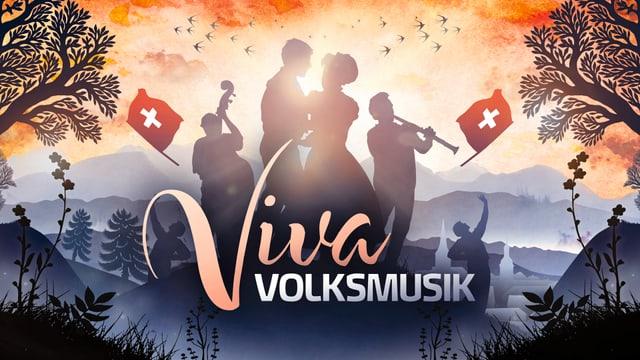 Logo Viva Volksmusik.