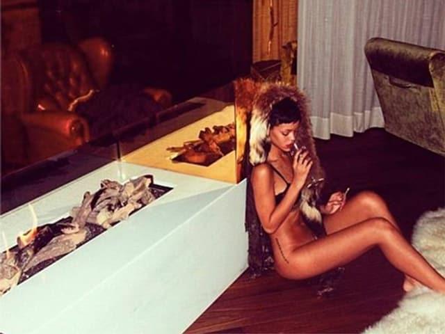 Rihanna im Dolder Grand