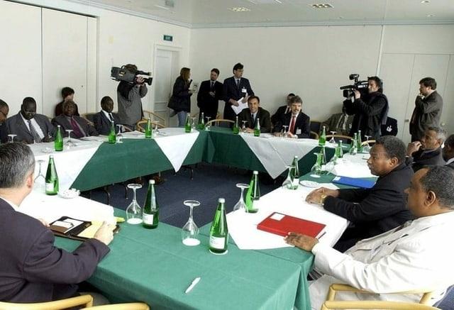 Auf dem Bürgenstock hoch über dem Vierwaldstättersee besiegelten die Konfliktparteien den Friedensvertrag im Sudan.