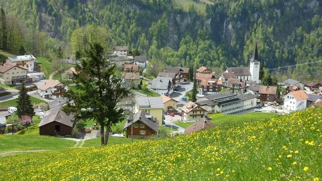 Gemeinde Illgau im Kanton Schwyz.