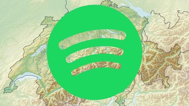 Wer streamt wo was? Unsere Übersicht zeigt dir, was sich die Schweizerinnen und Schweizer 2019 auf Spotify angehört haben.