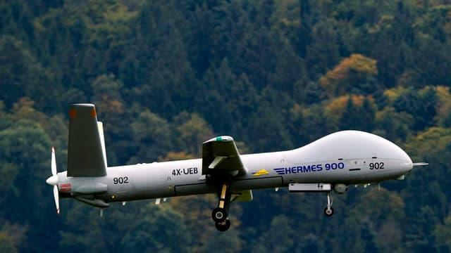 Ina drona dal tip Hermes HFE 900.