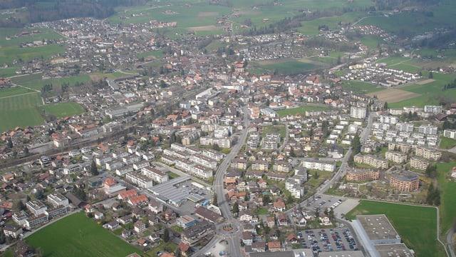 Luftaufnahme von Steffisburg