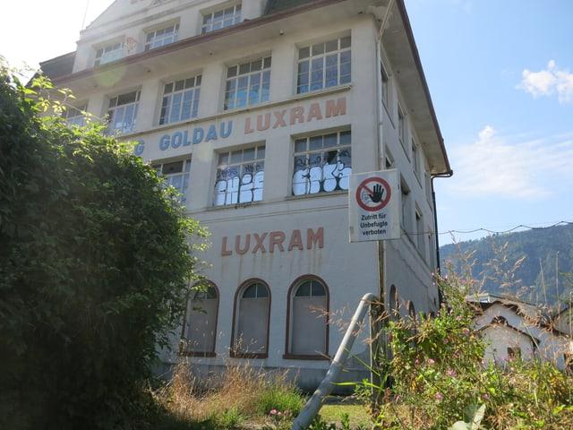 Die ehemalige Lampenfabrik Luxram.