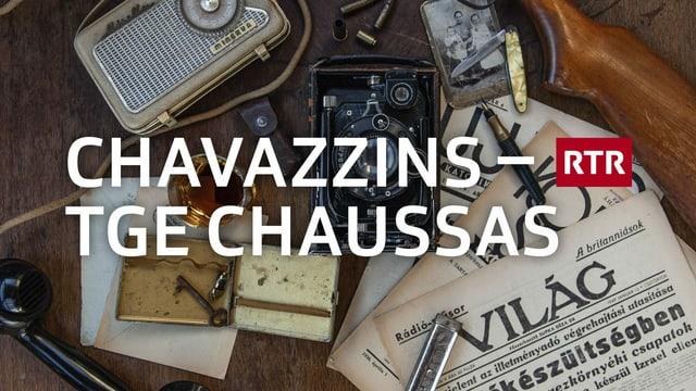 diversas chaussas en il fund, l'inscripziun chavazzins - tge chaussas
