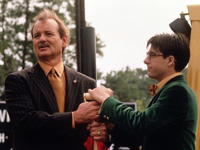 Bill Murray und Jason Schwartzman in «Rushmore».