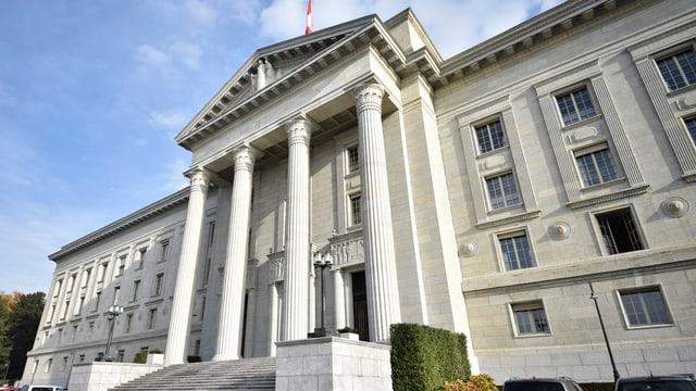 L'edifizi dal Tribunal federal a Losanna
