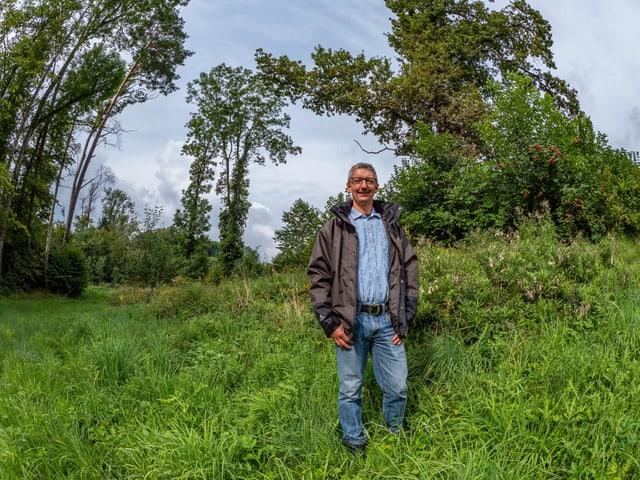 Der Landwirt Peter Bösch