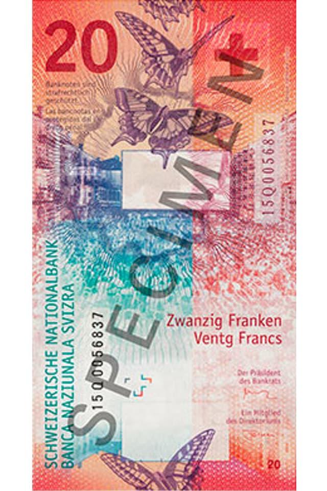 La nova bancnota da davos.