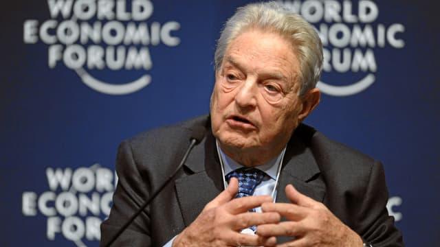 George Soros, hier beim WEF 2011