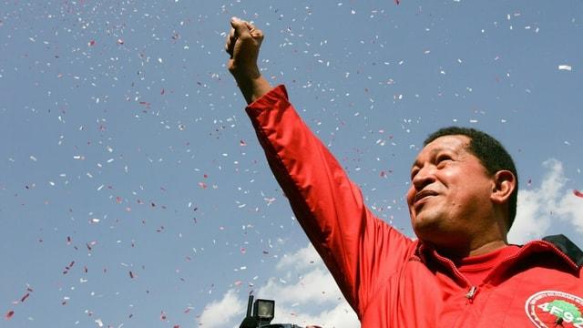 Hugo Chavez 2010 in Caracas