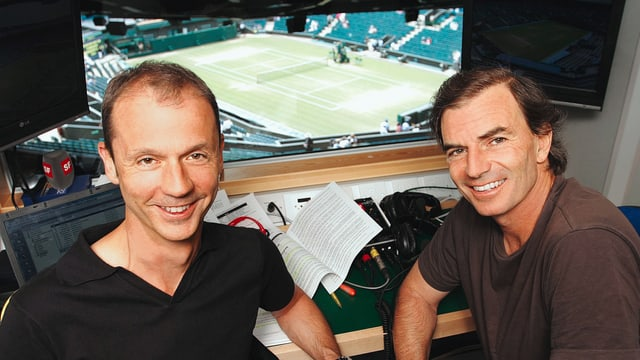 Stefan Bürer und Heinz Günthardt