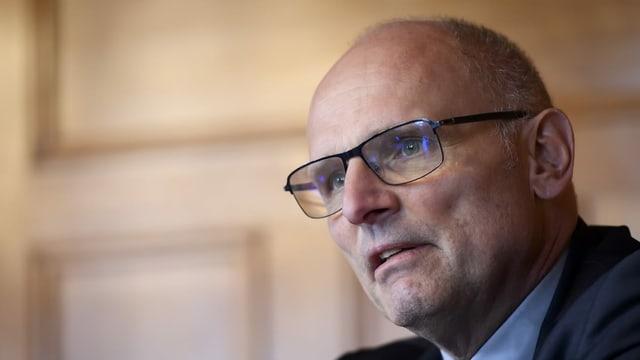GPDel-Präsident Heer: «Darf sich nicht wiederholen»