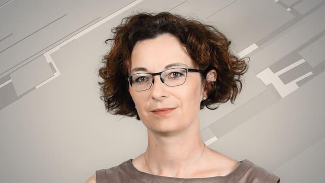 Porträt Géraldine Eicher.