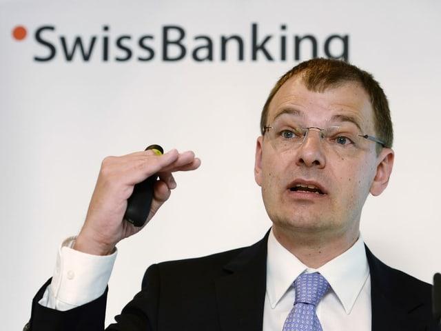 Martin Hess, schefeconom da l'Associaziun dals banchiers svizzers.