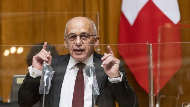 Finanzminister Ueli Maurer