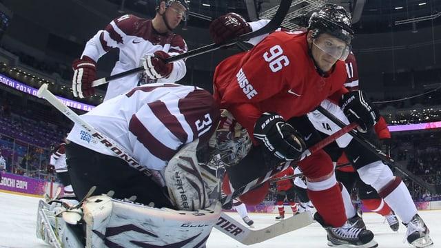 Damien Brunner e dus ulteriurs giugaders da hockey sin glatsch