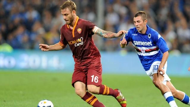 Der Italiener spielt seit 2002 für die AS Roma.