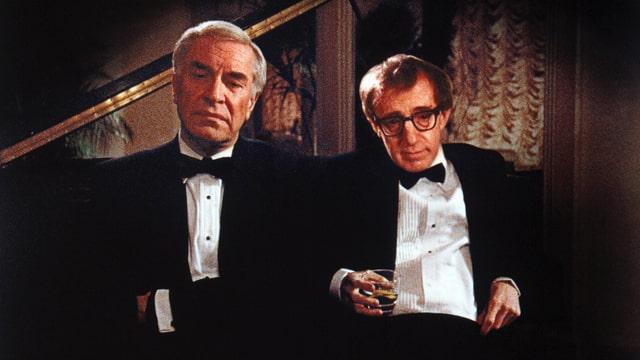 Woody Allen mit Martin Landau