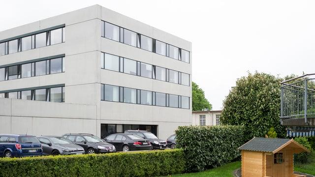Das Empfangszentrum des Bundes in Kreuzlingen