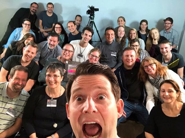 Good Mood bei unseren Comedians und natürlich dem Publikum!