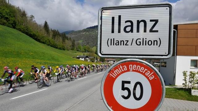 La cursa da Glion a Val Son Pieder è la pli veglia cursa da velo dal Grischun.