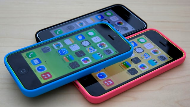 Drei iPhone 5C