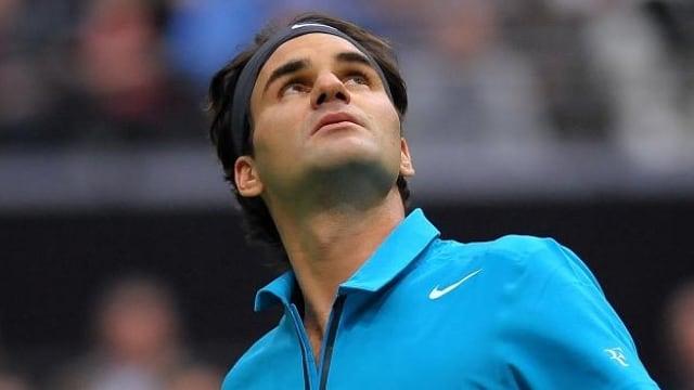 Roger Federer will seine weisse Weste auch gegen Thiemo de Bakker wahren.
