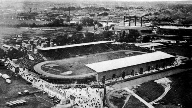 Das Olympiastadion von Paris 1924