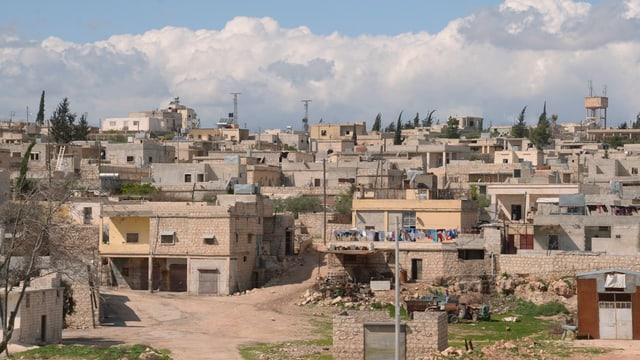 Stadt Aleppo in Syrien.