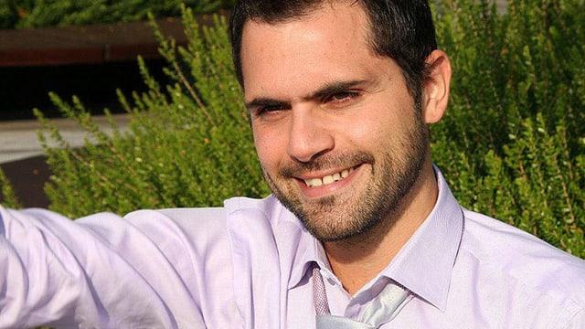 Porträt Davide Gagliardi.