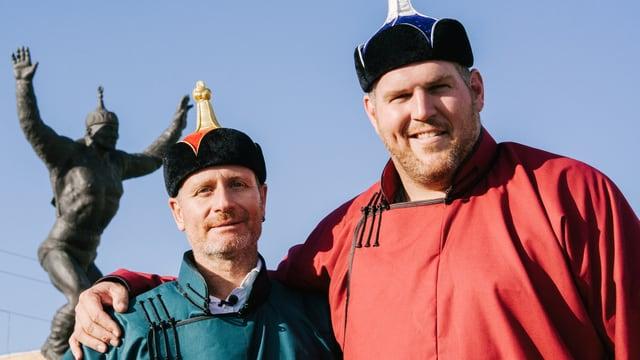 Video «Chrigu und Sepp in der Mongolei (4/4)» abspielen