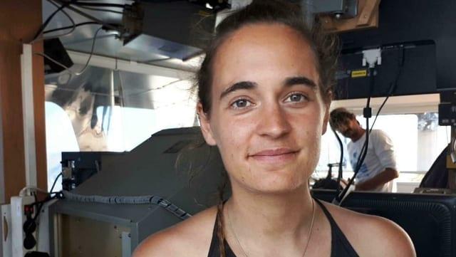 Kapitänin Carola Rackete