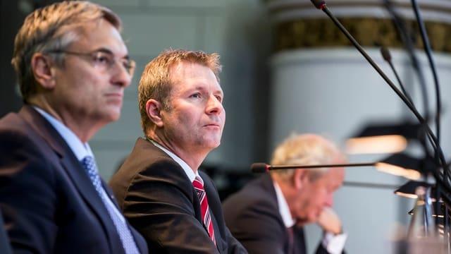 drei Luzerner Regierungsräte