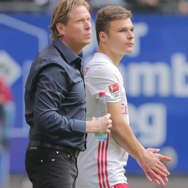 Markus Gisdol und Vasilije Janjicic