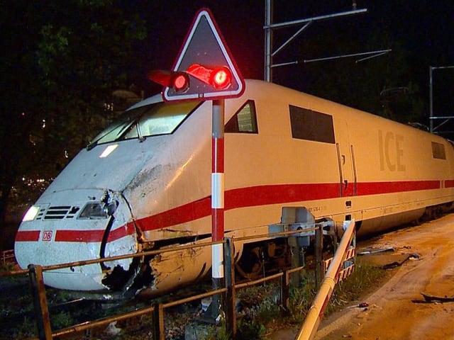 Der zerstörte Zug