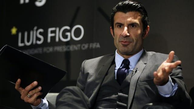 Der frühere portugiesische Fussball-Star.