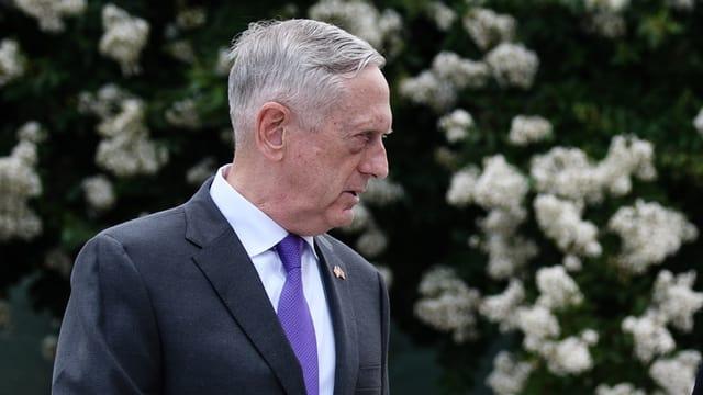 Purtret minister da defensiun american Jim Mattis