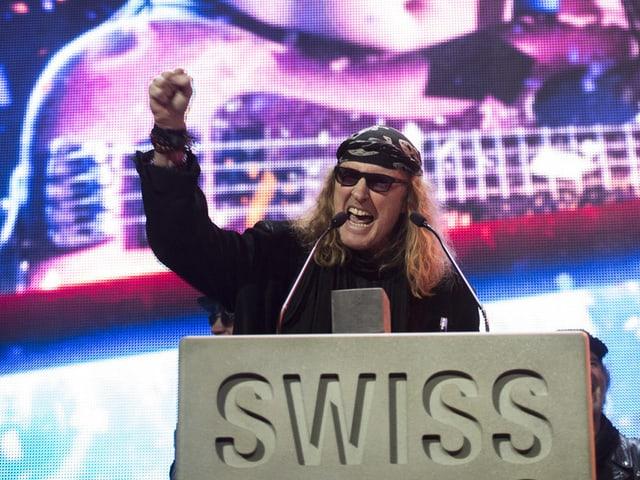 Chris von Rohr an den SMA's 2015: Showbiz oder doch nur «e biz Show»?
