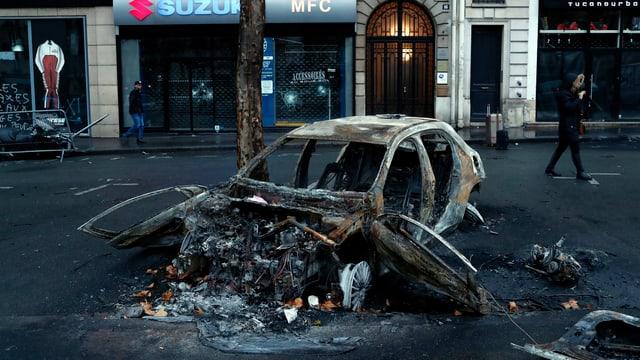 Restanzas d'in auto ars.