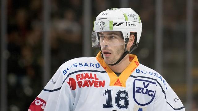 Raphael Diaz spielt nach 5 Jahren in der NHL wieder bei Stammklub Zug.