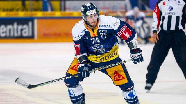 Johann Morant auf dem Eis