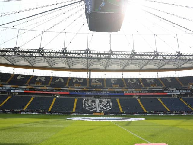 Stadion von Eintracht Frankfurt.